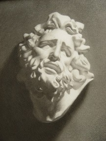 Hajicek drawing of cast
