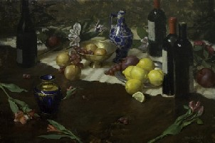 Michael Van Zeyl  wine bottles